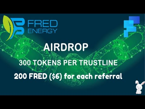 Ganhe U$9 Dólares Grátis no Airdrop Oficial FRED Energy dentro da plataforma freeairdrop.io  !!!