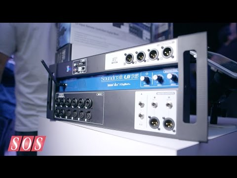 Soundcraft Ui12 & Ui16 - NAMM 2015
