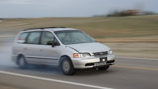 The Turbo Minivan makes TOO MUCH Power!