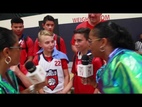 TwinSportsTV: Interview with 5th Grade Oklahoma Shield Basketball Team