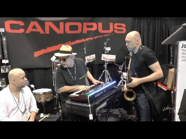 NAMM Show Canopus Drums Session