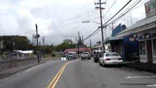 preview picture of video 'Drive into Pahoa'