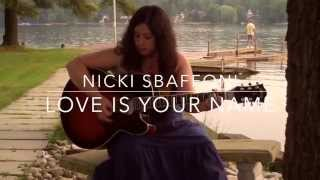 Love Is Your Name by Steven Tyler - cover by Nicki Sbaffoni