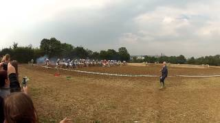preview picture of video 'St Pierre de Coutances motocross sur prairie 23/09/2012'