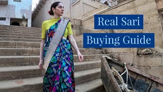 How to Buy REAL Silk Saris in India (Avoid Fakes!)