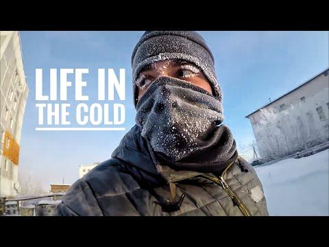 Экстремальная зима в Якутии