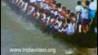 The Payippad boat race - the Onam regatta
