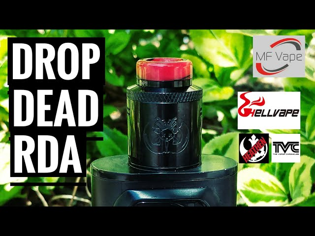 Drop Dead RDA - Hellvape, TVC & Heathen - Review, rebuild & wick