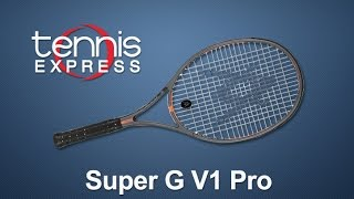 Ρακέτα τέννις Volkl Organix Super G V1 Pro video