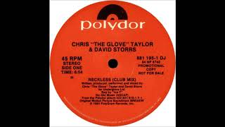 Chris The Glove Taylor & David Storrs feat.  Ice T - Reckless (1984)