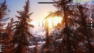 104. The Elder Scrolls V : Skyrim (SA-Evolution 2.4 RC) Змеиный зуб осмотр земель