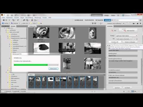 Web-Fotogalerie erstellen - Adobe Photoshop CS5 - Die Grundlagen