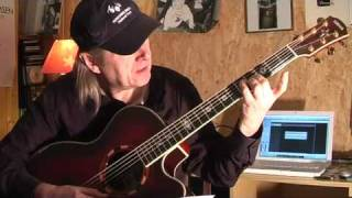 preview picture of video 'Everybody Loves Somebody Sometimes Guitar Lesson by Siggi Mertens'