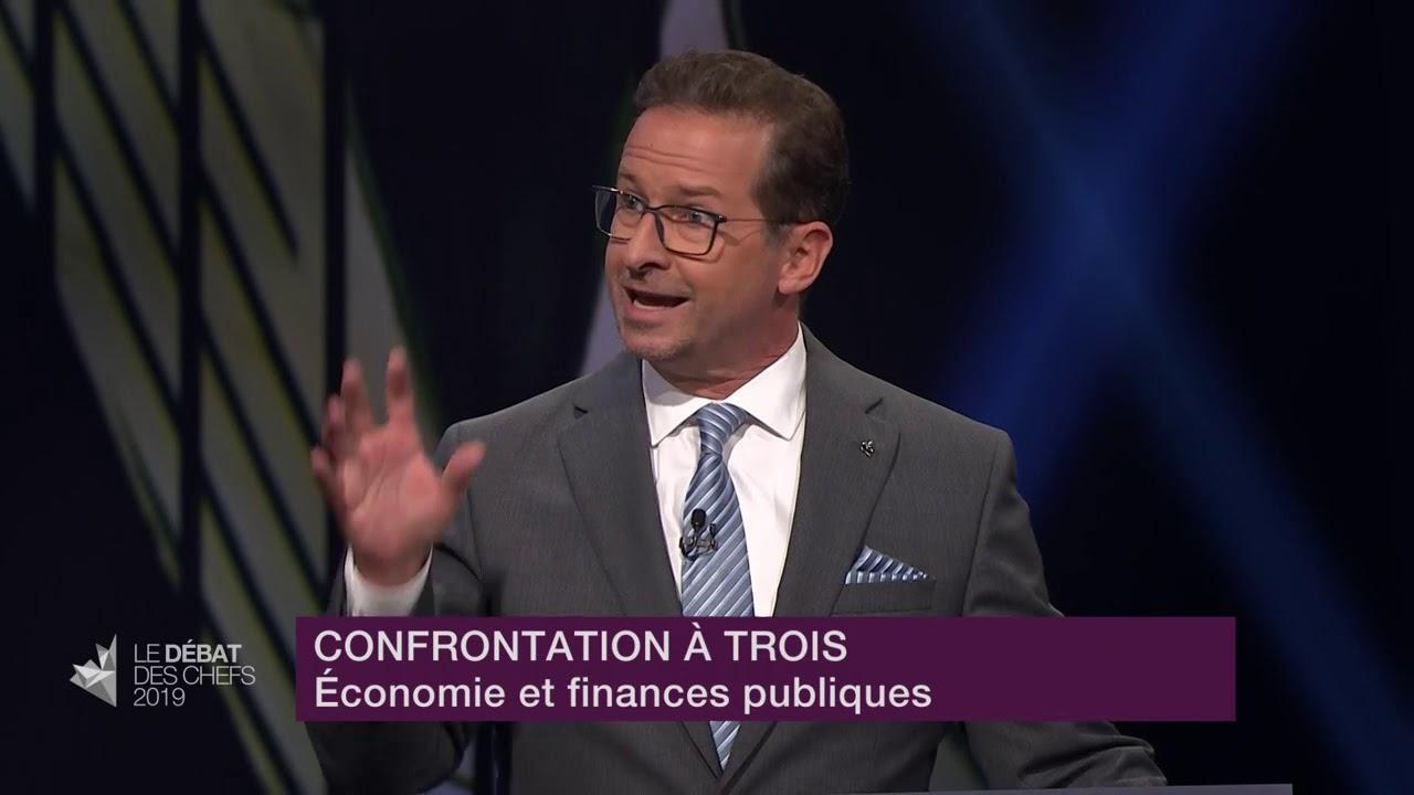 Jagmeet Singh, Elizabeth May et Yves-François Blanchet débattent sur le fardeau fiscal