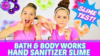 How to make hand sanitizer slime with just 1 ingredient no borax or hand sanitizer slime bath body works slime test ccuart Images