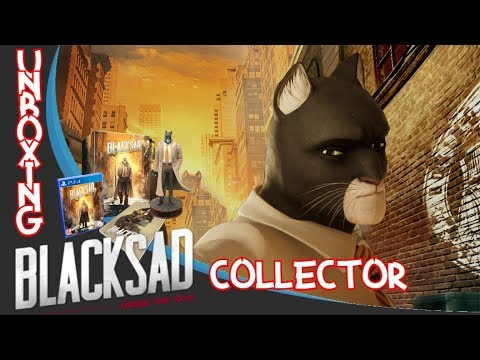 UNBOXING FR - BLACKSAD UNDER THE SKIN - COLLECTOR EDITION - PS4