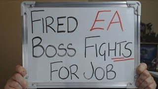 FIRED EA Boss Fights for his job in COURT !!