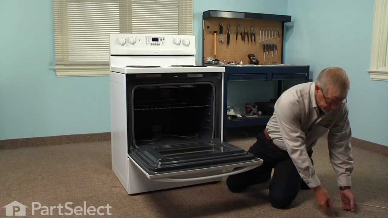Replacing your Whirlpool Range Oven Bake Element