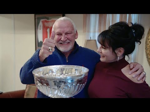 Flyers legend Bernie Parent finally gets his day with the Stanley Cup