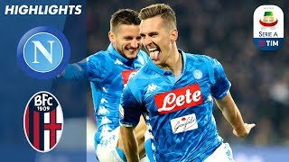 Napoli 3-2 Bologna | Milik Double & Late Mertens Winner As Napoli Edge Out Bologna | Serie A