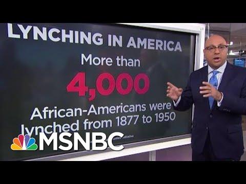 A History Lesson On Lynching   Velshi & Ruhle   MSNBC