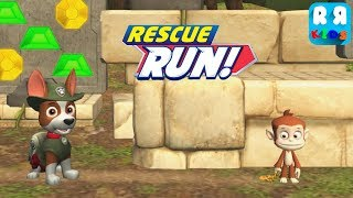 PAW Patrol Rescue Run - Tracker Catch The Monkey | The Jungle