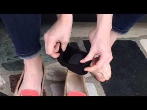 Quinsensibiliser les pieds à la phlébite