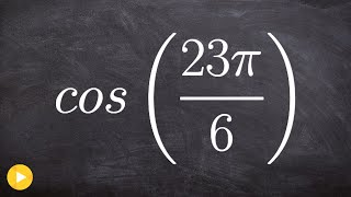 How To Evaluate For Cos Without Using A Calculator Or The Unit Circle