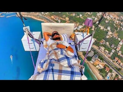 I Don't Think You're Supposed to Sleep While Flying a Paraglider