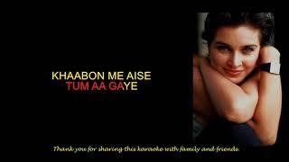 dooba dooba rehta hoon karaoke hindi full song   - YouTube