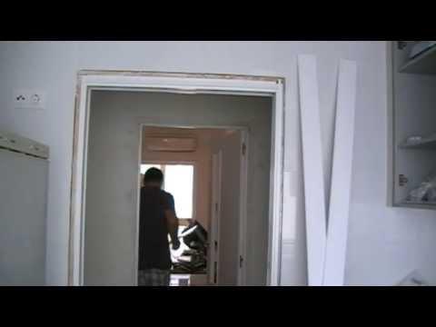 Download youtube mp3 poner los tapajuntas o tapetas a - Montar puerta corredera ...