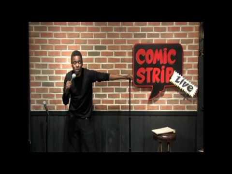 Chris Rock Comic Strip Live Stand Up