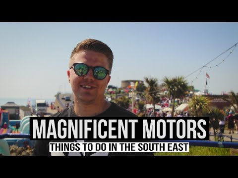 MAGNIFICENT MOTORS 2018 - Things To Do In South East England