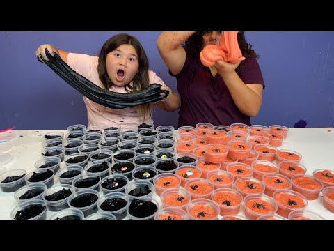 DIY SLIME for Our Trick or Treater's