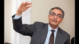 Fadi Chehade from ICANN at the Cybersecurity Rountable in Davos 2015