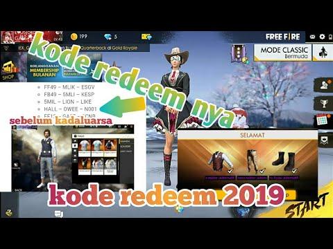 Kode Redeem Terbaru 2019!!! Buruan Sebelum Kadaluarsa