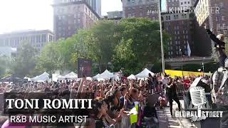 "TONI ROMITI PERFORMING LIVE HER HOT NEW SINGLE ""TRUST IN ME"""