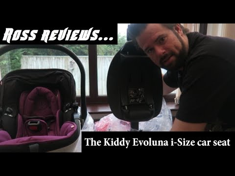 A Review of the Kiddy Evoluna I-Size Lay Flat Car Seat