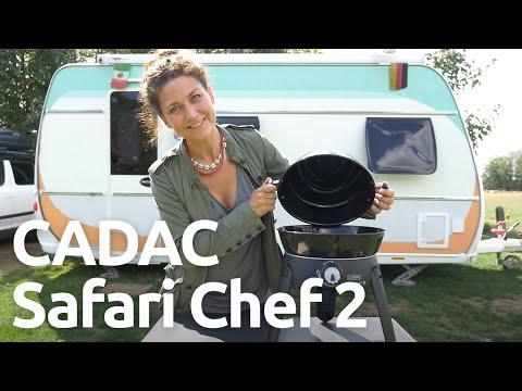 CADAC Safari Chef 2: Zubehör, Funktionen, Aufbau und Abbau