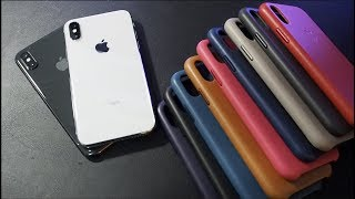 Apple iPhone X Leather Cases - All Colors (Again)