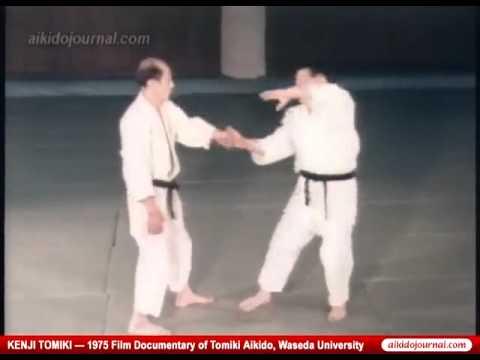 Video: Kenji Tomiki: Aikido Kyogi, Part 1