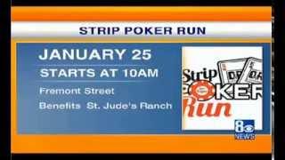 8NewsNow Las Vegas Interviews Downtown Runners About The Strip Poker Run