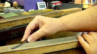 How To Strop A Wood Carving Knife