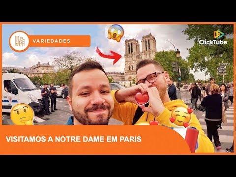 Tá no Caminho - Notre Dame de Paris após o incêndio e tour na cidade luz