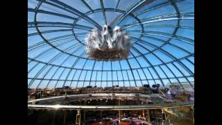 preview picture of video 'Hotel Royal Tulip (Almaty / Kasachstan) Wandelbares Dach / Retractable Roof'