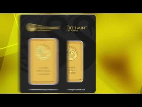 Video der Perth Mint Goldbarren