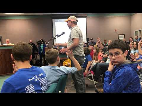 Video: Jason Horton addresses the Sullivan County school board Jan. 8, 2019