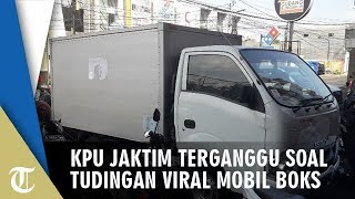 KPU Jaktim Mengaku Terganggu Tudingan Video Viral Mobil Boks, Padahal Tak Ada C1 di Dalamnya
