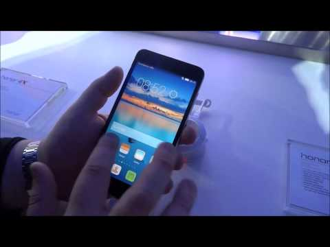 Huawei Honor 4X, video anteprima dal MWC 2015