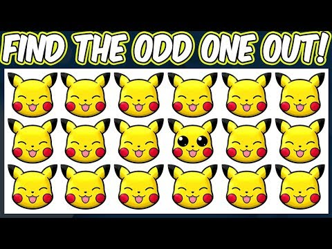 Pokemon Shuffle - Find The Odd Pokemon Out Quiz | Spot The Difference Pokemon Shuffle Puzzles